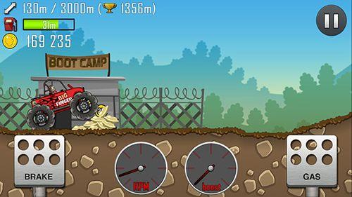 Screenshot Bergrennen auf dem iPhone