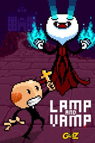 logo Lámparas y vampiro