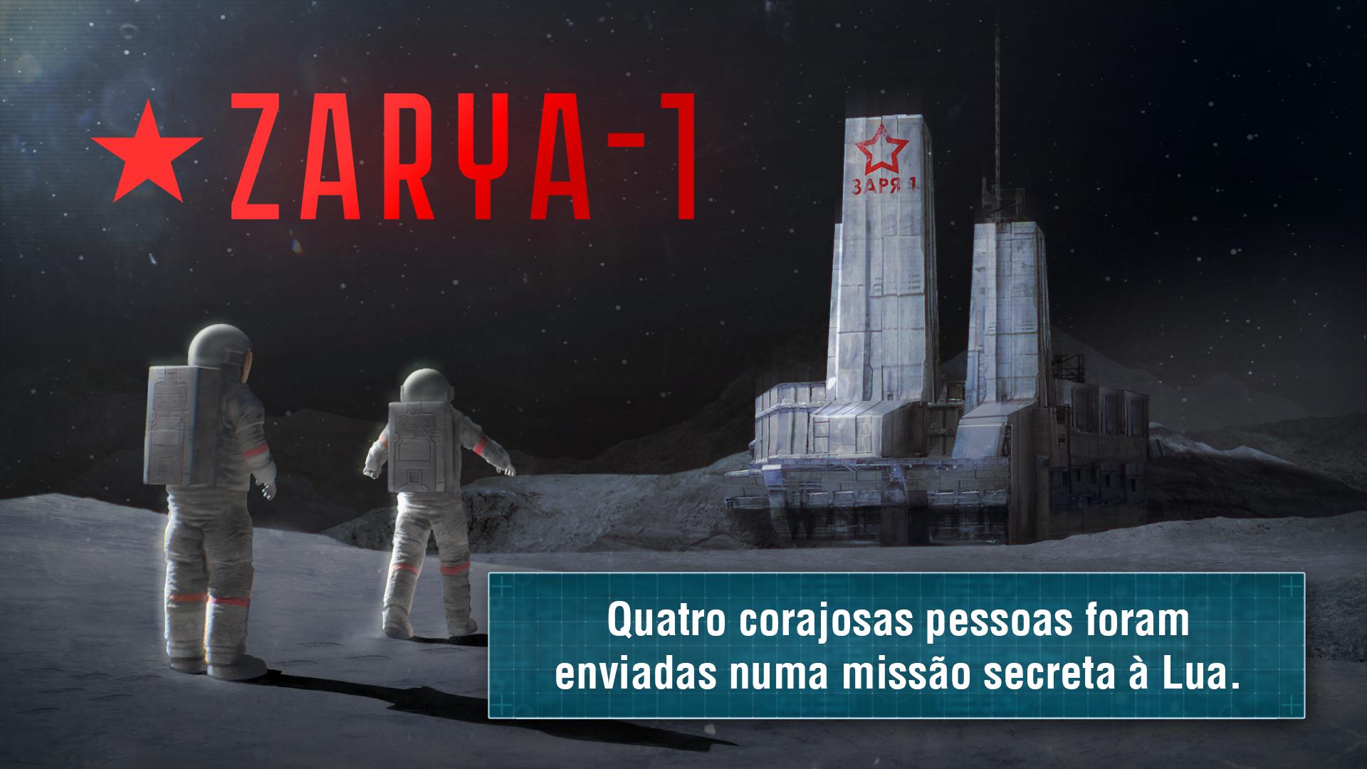 Survival-quest ZARYA-1 STATION captura de tela 1