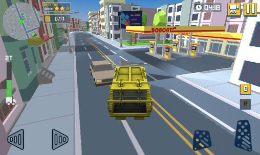 Blocky garbage truck sim pro Screenshot