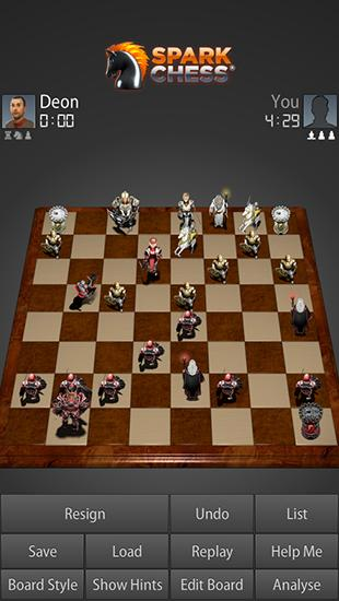 Sparkchess para Android