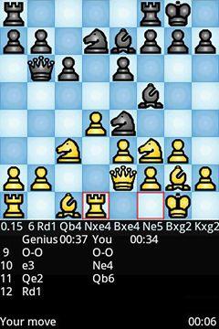 Lógica Chess geniuspara smartphone