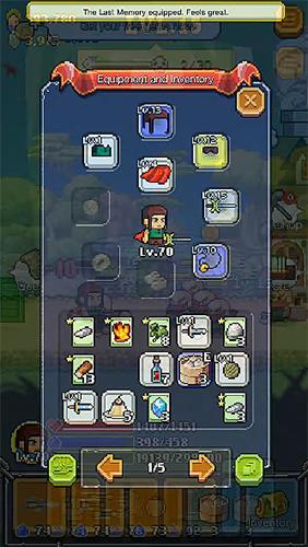 Arcade The mighty hero für das Smartphone