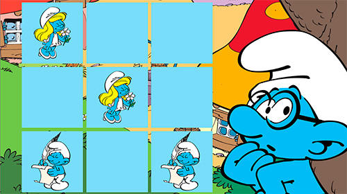 The Smurfs and the four seasons für Android