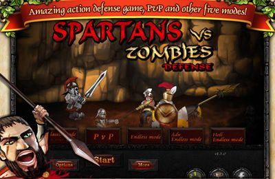 логотип Спартанці проти Зомбі