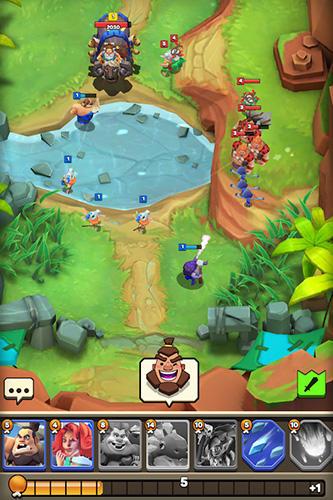 Cunning tribez: Road of clash captura de tela 1