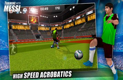 Sports games Training with Messi – Official Lionel Messi Game in English