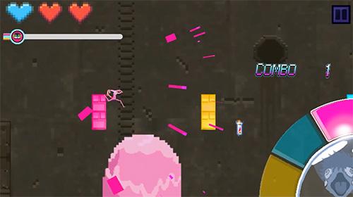 Arcade Chamelrun: Chameleon run! für das Smartphone