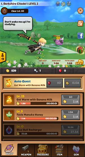 Touch heroes: Soul crash для Android