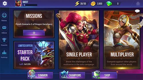 RPG-Spiele: Lade Dungeon Jäger: Champions auf dein Handy herunter