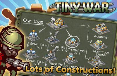 Tiny War in English