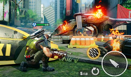 Action games: download Hero hunters to your phone
