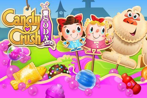 标志Candy crush: Soda saga