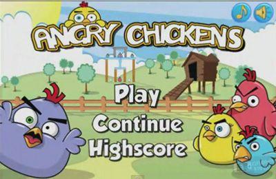 logo Wütende Hühner Pro