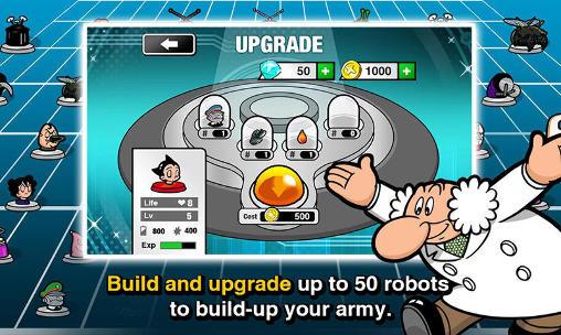 Astro boy siege: Alien attack für Android