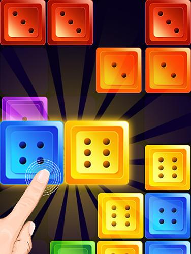Arcade-Spiele Dominoes jewel block merge für das Smartphone