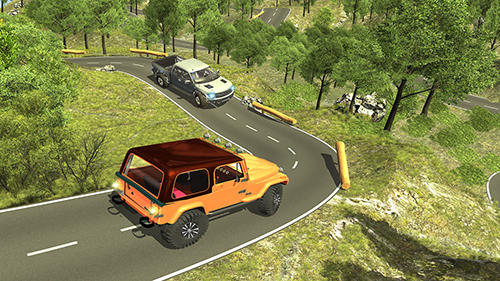 4x4 offroad jeep mountain hill для Android