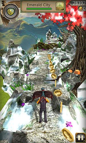 Snow temple run screenshot 2