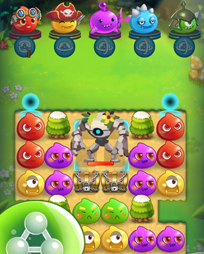 Angry slime: New original match 3 für Android