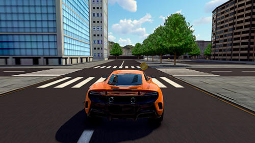 wDrive: Extreme car driving simulator pour Android