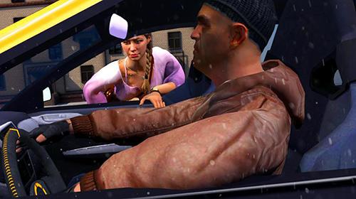 Simulator-Spiele Mental taxi simulator: Taxi game für das Smartphone