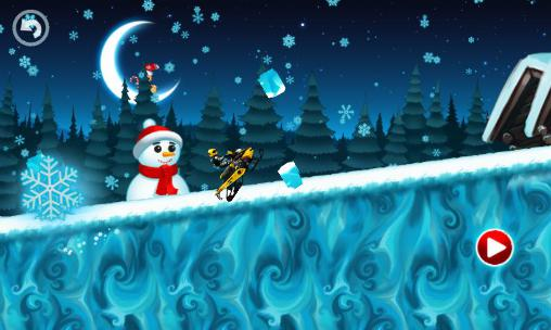 Motocross kids: Winter sports para Android