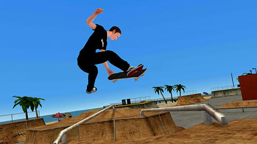 Tony Hawk's skate jam captura de pantalla 3