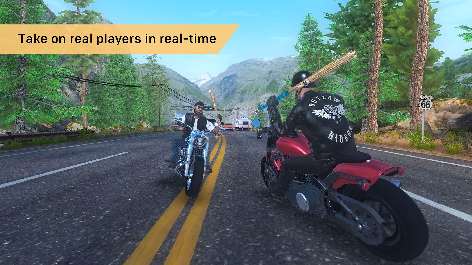 Outlaw Riders: War of Bikers screenshot 1