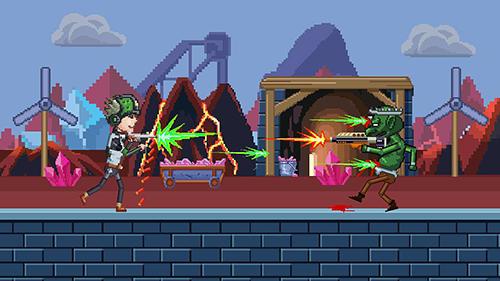 Pixel Gunblood fight auf Deutsch