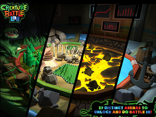 Arcade-Spiele Creature battle lab für das Smartphone