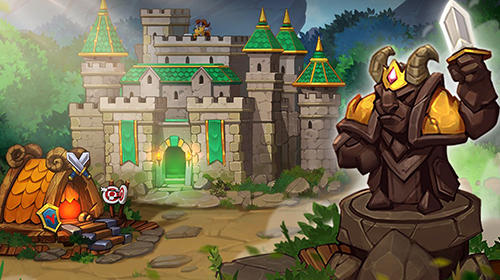 Battle rams: Clash of castles. Action RPG moba screenshots