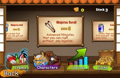 Arcade games: download Ninja Chicken 3: The Runner to your phone