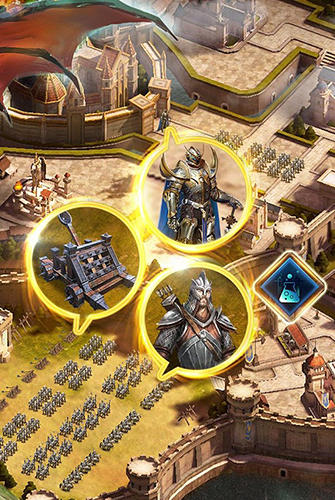 Jogos online Heroes of empires: Age of war para smartphone