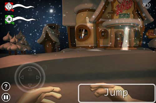 Arcade games: download Santa's sleeping to your phone