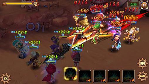 RPG-Spiele 3k: Art of war für das Smartphone