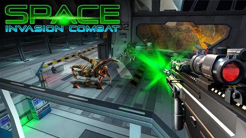 Space invasion combat Symbol