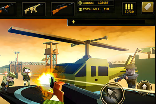 Jogos de pixel Survival strike force open world elite em portugues