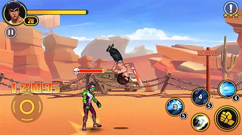 Juegos de arcade Glory samurai: Street fighting para teléfono inteligente