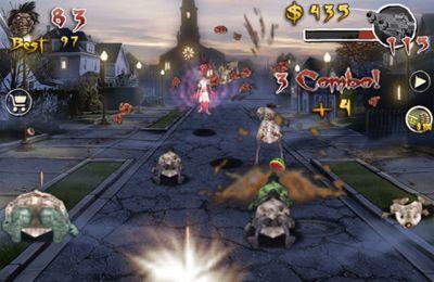 L'Invasion des Zombies pour iPhone gratuitement