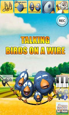Talking Birds On A Wire captura de pantalla 1