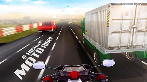 Аркады игры: скачать Highway moto rider: Traffic raceна телефон