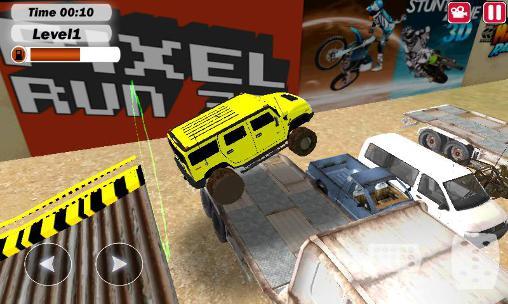 Rennspiele Extreme monster stunts 3D für das Smartphone