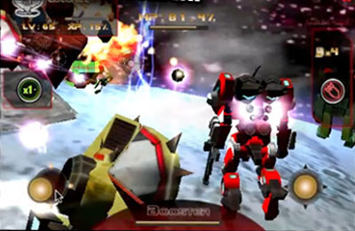 Multiplayer games: download Battle 3D: Robots Sky to your phone