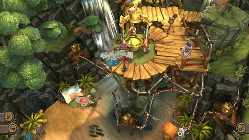 RPG The aetherlight: Chronicles of the resistance für das Smartphone