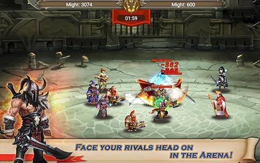 Kingdom legends für Android