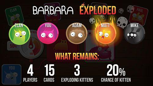 Логические игры Взрывные котики