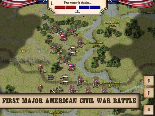 Bürgerkrieg: Bull Run 1861 für iPhone