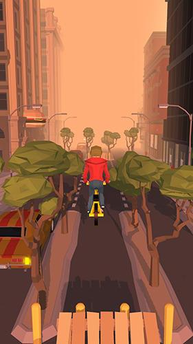 Crazy bike rider für Android