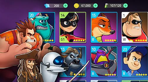 Héros de Disney: Mode de bataille