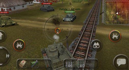 Simulation Wild tanks online für das Smartphone